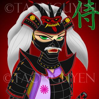Samurai Girl 1- Masked