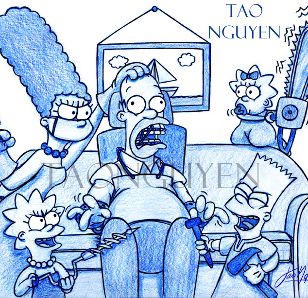 The Simpsons Dentist of Horror