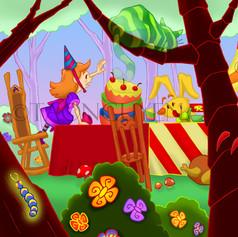 Alice Tea Party Artwork