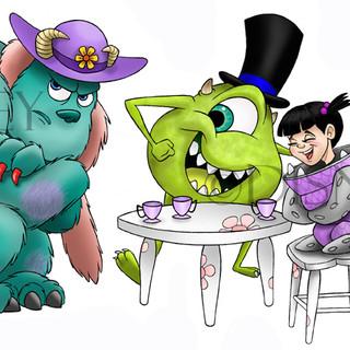 Monster Inc. Fan Art