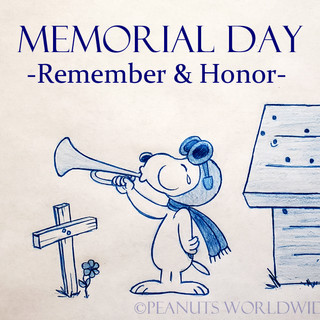 Memorial Day Snoopy