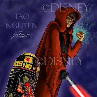 Evil Anakin & R2 Fan Art
