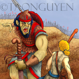 David & Goliath 1