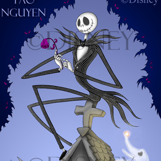 Jack Skellington - Haunted Mansion Artwork