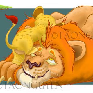 Lion & Son Art for Sale
