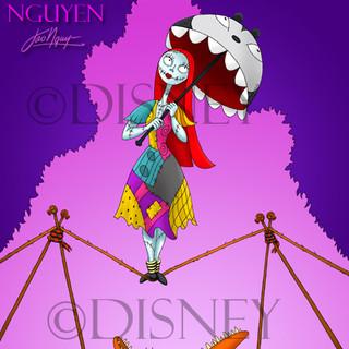 Sally - Haunted Mansion Artwork