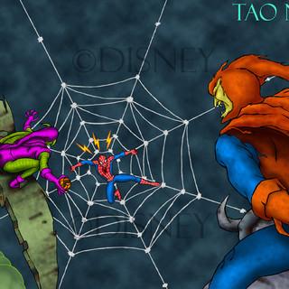 Spiderman VS the Goblins