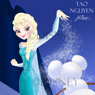 Frozen Mickey Fan Art