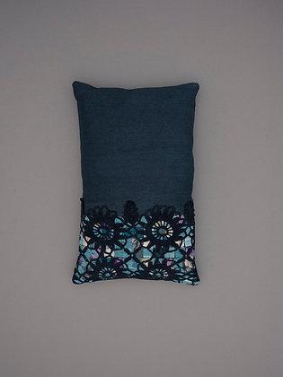 black crochet overlay small rectangle