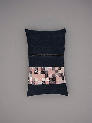 blush velvet seven stripe small rectangle