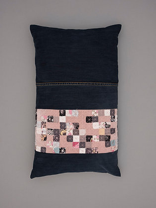 blush velvet seven stripe large rectangle