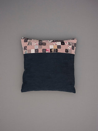 blush velvet five stripe small square