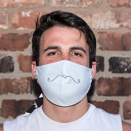 do you like my 'tache? mask