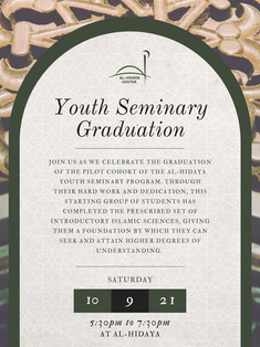Youth Seminary Graduation This Saturday