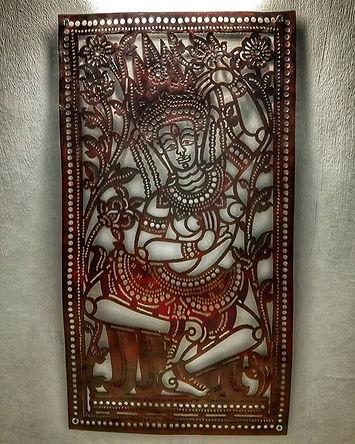 Street Leather Art - Apsara Dancers _sno