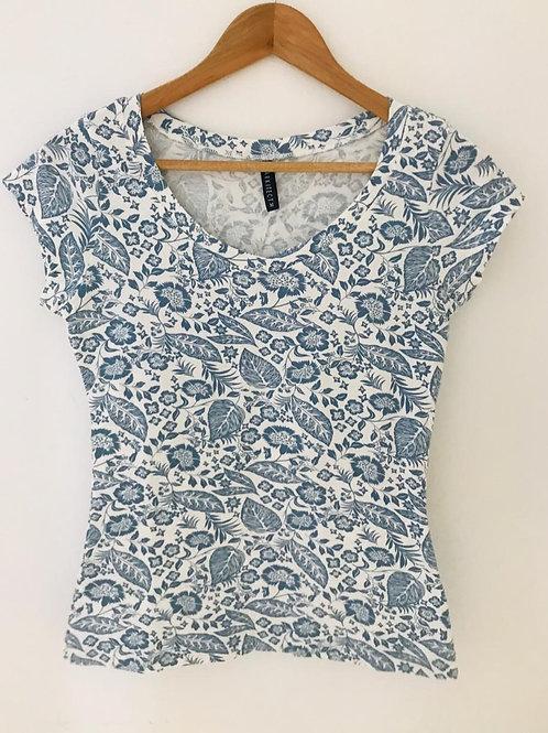 Camiseta Blanca/Estampada