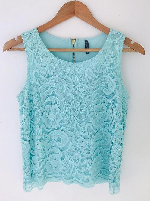 Camisa Aguamarina