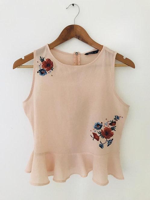 Camisa curuba/Flores