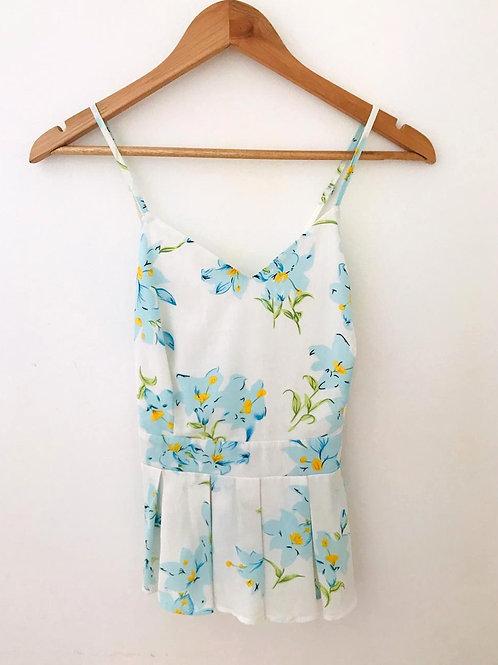 Camisa Blanca /Flores
