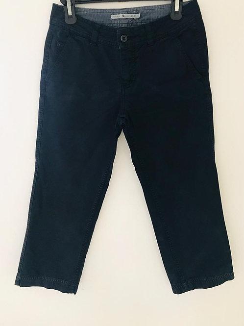 Pantalón Mujer Capri Azul