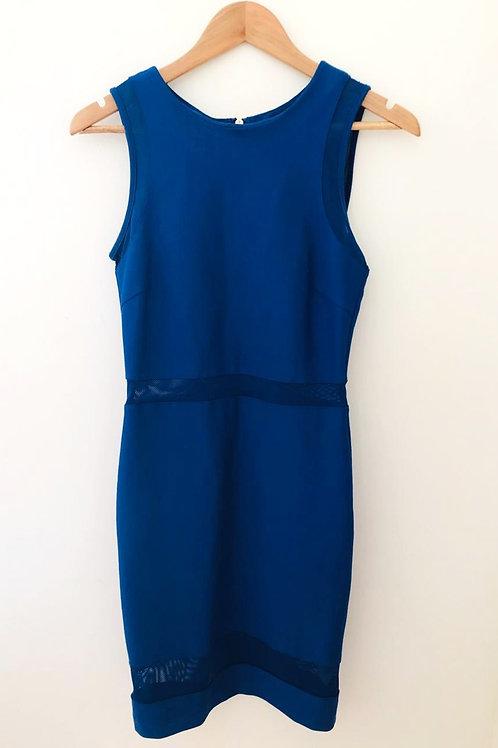 Vestido Azul Rey/Ajustado