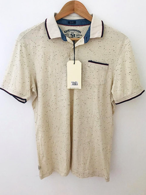 Camisa Beige Jaspé Hombre