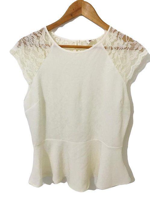 Camisa Blonda Beige