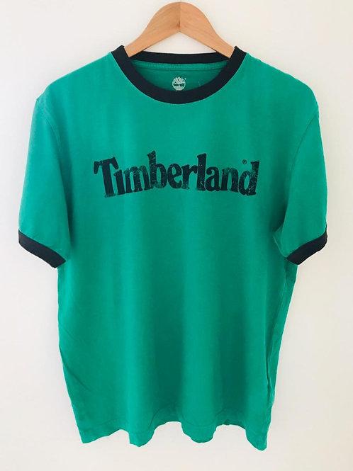 Camiseta Hombre Verde/Azul