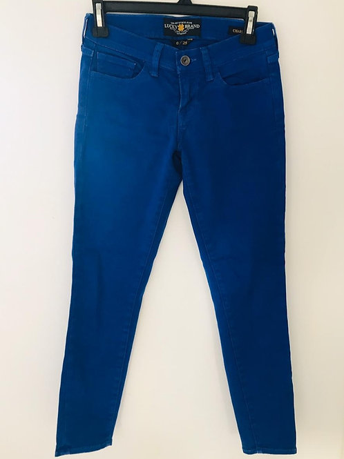 Pantalón Mujer Azul
