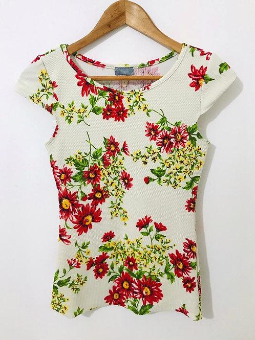 Camisa Estampada Flores