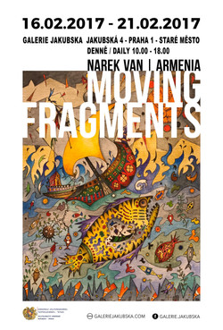The solo exhibition of Narek Van.