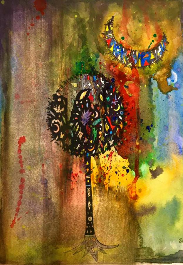 """""""Experimental Tree""""  by Narek Van"""