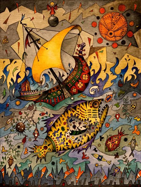 """Jonah"" by Narek Van"
