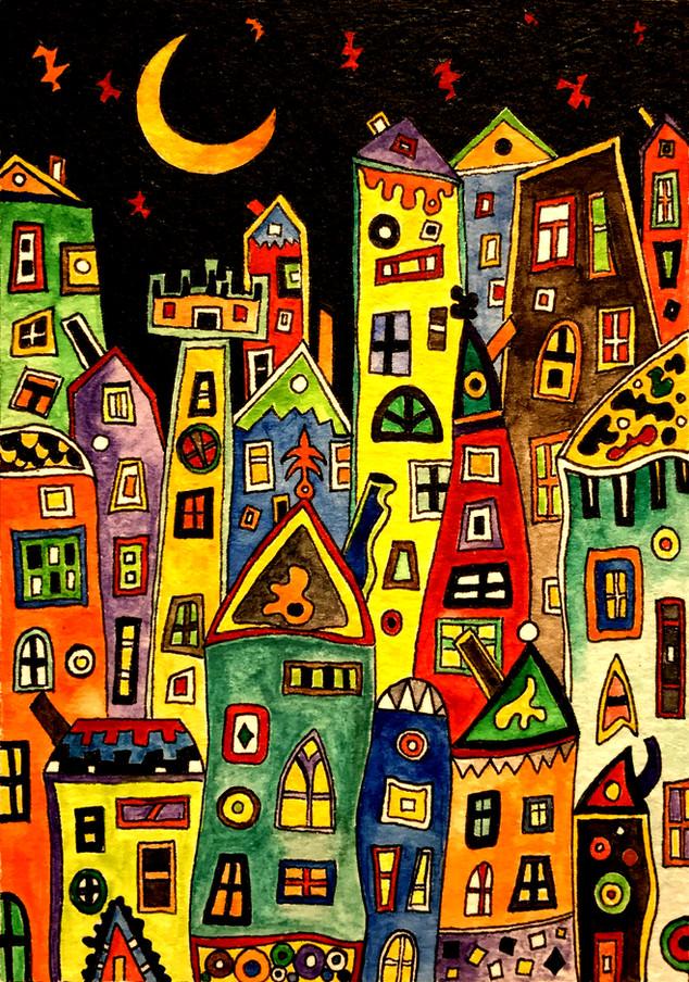 """""""The City""""  by Narek Van"""