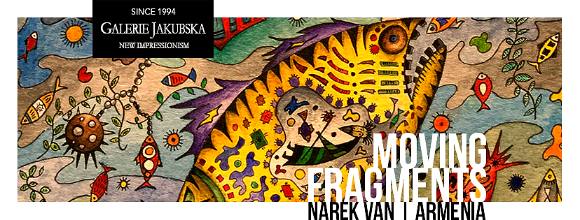 Narek Van's Exhibition In Prague