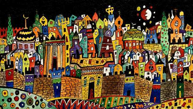 """Jerusalem""  by Narek Van"