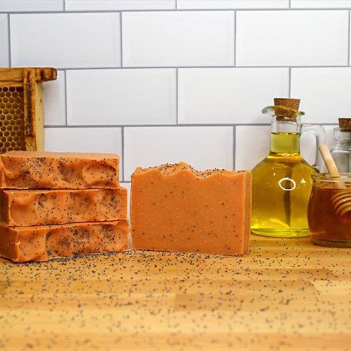 Sunshine Poppy Exfoliating Soap