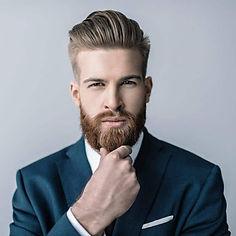 Bearded Man In Suit