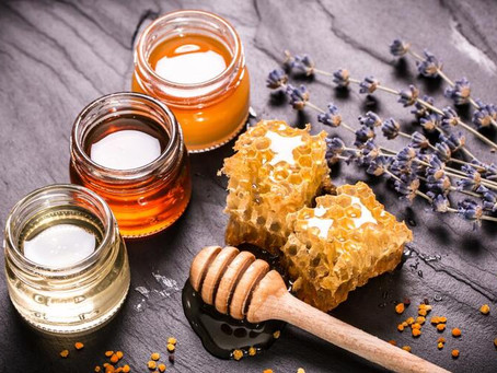 Beeswax & Raw Honey For Skin Care