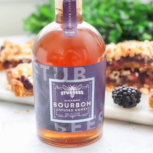 Blackberry Bourbon Infused Honey