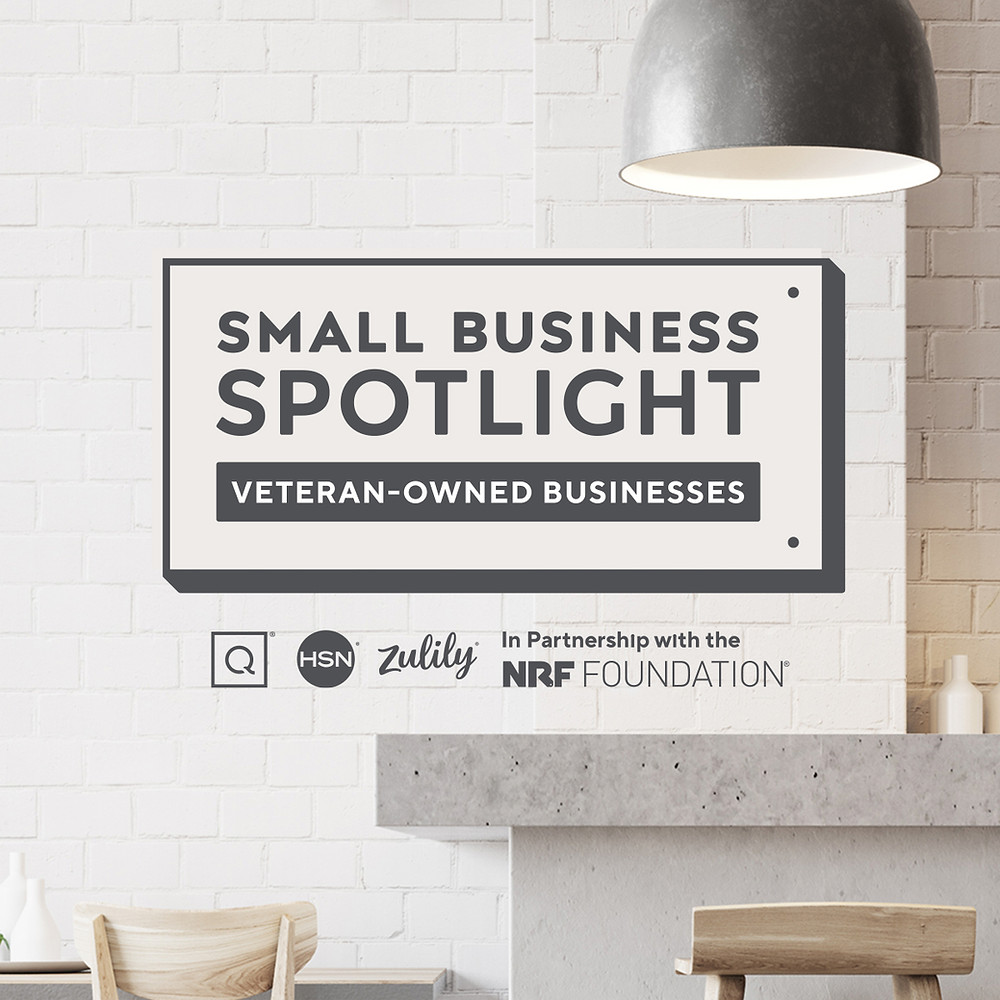 The Qurate Group & NRF's program to support Small Businesses each month, the Month of May was for Veteran Owned Businesses
