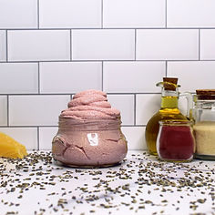 Black Amber & Lavender Emulsified Beeswax Sugar Scrub.jpg