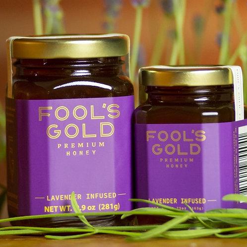 9.9oz Lavender Infused Honey