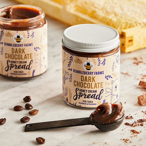 Dark Chocolate Honey Cream Spread