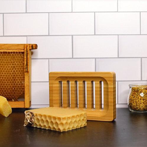 Eco-Friendly Bamboo Soap Tray