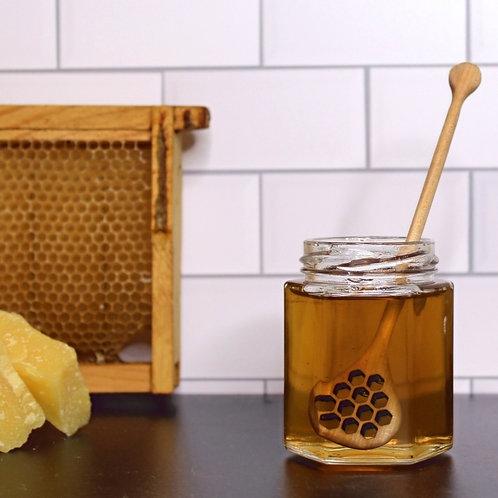 European Wooden Honey Dipper