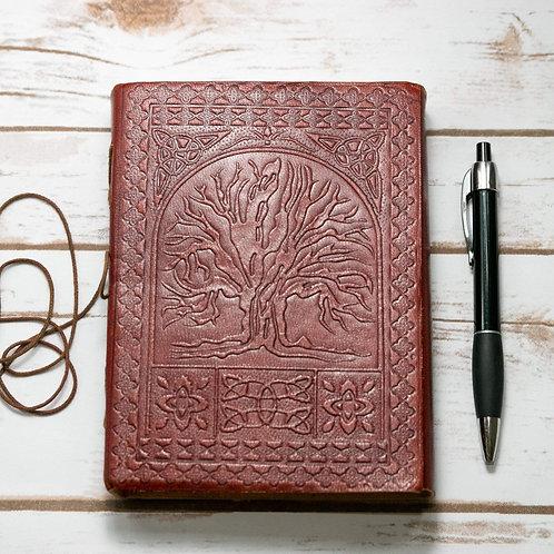 Tree of Life Handmade Leather Journal
