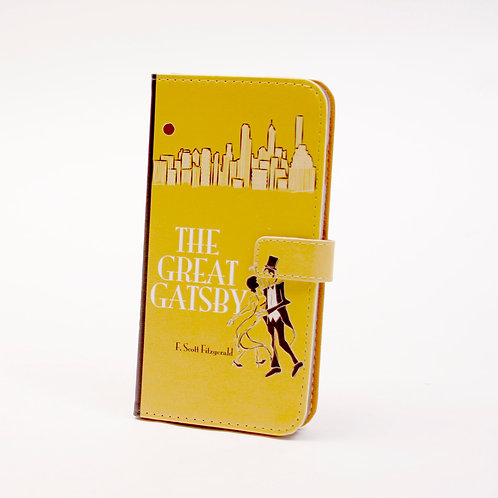 Great Gatsby Phone Flip Case Wallet for iPhone and Samsung
