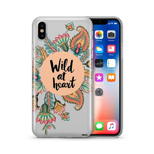 Wild at Heart - Clear Case Cover