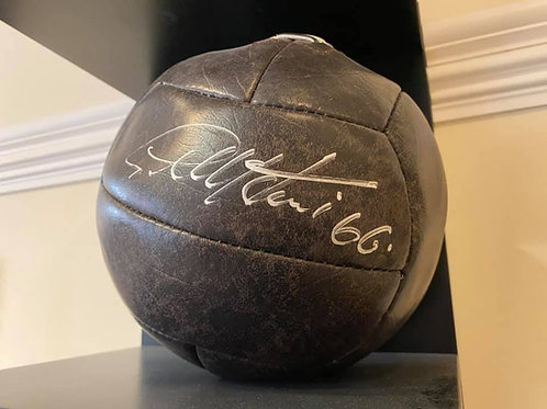 Sir Geoff Hurst Signed Ball